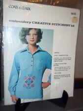Coats & Clark Emboidery Creative Stitchery Kit #5855