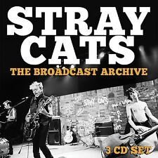 STRAY CATS New Sealed 2019 CLASSIC LIVE CONCERTS 3 CD BOXSET