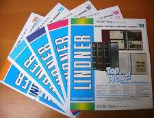 TURCHIA Turkey 1995/1999 fogli marca LINDNER