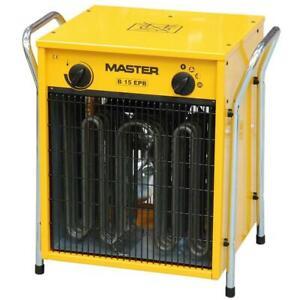 Master Elektroheizgerät B 15 EPB 7,5 - 15 kW Heizlüfter Elektroheizer Ofen