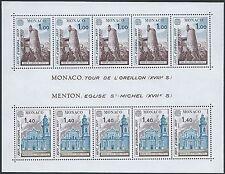MONACO - BF N°13 - Bloc Feuillet Neuf** // 1976 - MONUMENTS