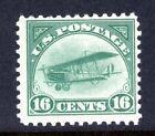 Unused FVF US 1918 Airmail Jenny Scott C2, Undisturbed OG MNH, Very Fresh
