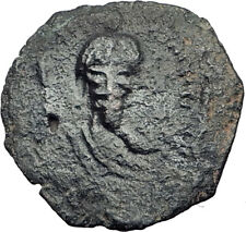 CRUSADERS of Antioch Tancred Ancient 1101AD Byzantine Time Coin CROSS i64763