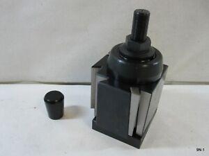 "Quick Change Tool Holder CXA 250-333 Wedge Tool Post 13-18"" Swing Lathe"