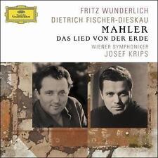 Mahler: Das Lied von der Erde / Wunderlich, Fischer-Dieskau; Krips; CD