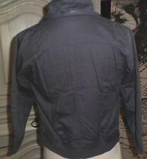 Blouson capuche printemps-été garçon bleu/gris, 114cm 5-6ans, impeccable