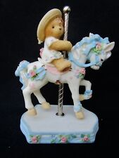 """Cherished Teddies """" Virginia - It's So Merry Going 'Round With You """" Figurine"""