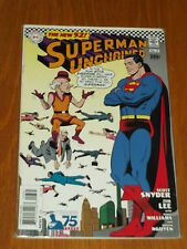 SUPERMAN UNCHAINED #3 FN (6.0) DC COMICS VARIANT NEW 52 OCTOBER 2013