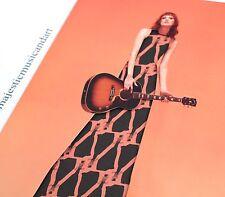 KAREN ELSON LIVE PEACH BLACK VINYL LP WINDOW DRESS COVER JACK THE WHITE STRIPES