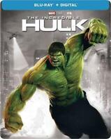 Marvel The Incredible Hulk Steelbook (Blu-ray/Digital Copy, 2018) Factory Sealed