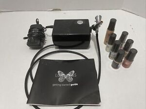 Used Luminess Air Brush System. PC-250BK. Extras