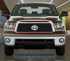 Dual Weave Mesh Grille Grill Overlay For Toyota Tundra 2010 2011 2012 2013