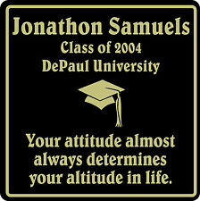 PERSONALIZED GRADUATION GIFT SCHOOL HS COLLEGE SIGN  #6