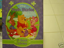 DISNEY POOH STORIES 7 BOOK LIBRARY FROM 100 ACRE WOOD
