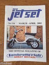 New Jet Set Magazine, Lambretta Great Britain Club, No.116 2002