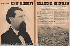 Henry Plummer Horrendous Masquerade
