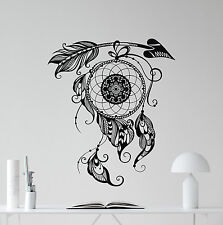 Dream Catcher Wall Decal Amulet Feather Vinyl Sticker Nature Poster Decor 111xxx
