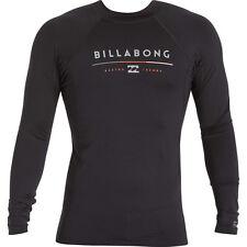 Billabong All Day Long Sleeve Rashguard Top (M) Black