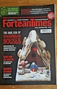 FORTEAN TIMES - Christmas 2018 Issue # 374 - Fairy Tales Gingerbread Houses UFO