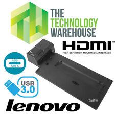 Lenovo Thinkpad Ultra Laptop Docking Station 40AJ - USB 3.1 USB Type-C HDMI