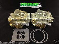 GENUINE HOLLEY 660 CFM CENTER-SQUIRTERS (PAIR) CARB CARBURETTOR TUNNEL RAM RACE
