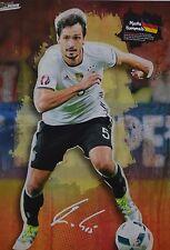 MATS HUMMELS - A3 Poster (ca. 42 x 28 cm) - Fußball Clippings Fan Sammlung NEU