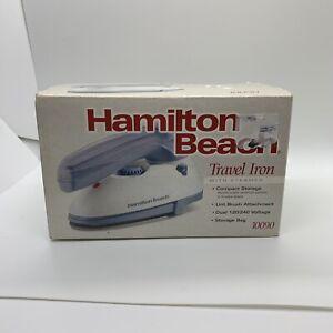 Travel Iron With Steamer Hamilton Beach NEW IN BOX  10090