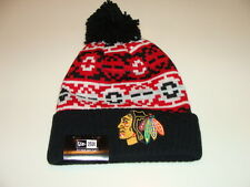 Чикаго Блэкхокс кепка шляпа НХЛ хоккей новой эры Beanie ток ретро Chill трикотажа osfm