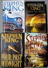Stephen King Hardcover Trade Lot Four Past Midnight Under Dome Desperation Buick