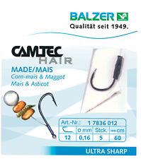 BALZER CAMTEC Speci Hair - Vorfachhaken mit Haar und Speer für Made Mais Korn