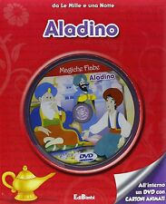 Aladino - LIBRO + DVD - Da Le Mille e una Notte - libro per bambini + 2 anni