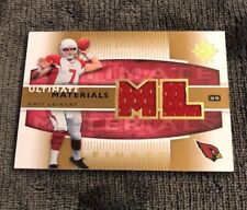 2007 Ultimate Collection Materials Gold #UM-ML2 Matt Leinart Jersey 54/99