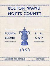 FA Cup Fixtures