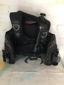 Seaquest  Pro XLT Bcd For Scuba Diving with Integrated Weight Pockets Size Med