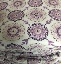 Sheet Set Flannel Queen Size 4Pc 100% Cotton Deep Pocket Soft Heavy Duty Purple