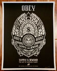Shepard Fairey Signed AUTOGRAPHED 18x24 09 Supply and Demand 20 Ann Print ICA LE