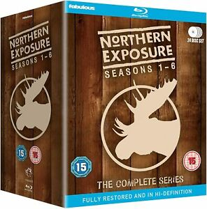 NORTHERN EXPOSURE COMPLETE SERIES COLLECTION 1-6 BOX SET 24 DISC BLU-RAY RB NEW