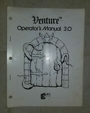 Exidy Venture Video Stand up Arcade Game Operation and Maintenance Manual