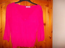 George V Neck None Medium Knit Jumpers & Cardigans for Women