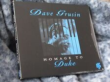 """DAVE GRUSIN CD """"HOMAGE TO DUKE"""" GRP RECORDS 1993"""