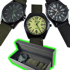 XINEW Military Army Infantry Nato Style Wrist Watch Quartz Date Outdoor Sports