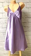 CHARTREUSE WOMAN Lavender Purple LIQUID SATIN Nightie Glossy SiSSy 1X