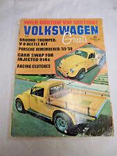 Volkswagen Greats VW magazine OCTOBER 1975 GROUND THUMPER BEETLE KIT