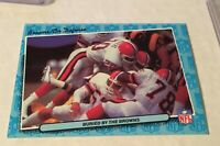 1986 FLEER FOOTBALL CLEVELAND BROWNS CARD #14 BURIED BY THE BROWNS BROWNS ON D
