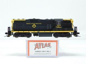 N Scale Atlas 48051 EL Erie Lackawanna EMD GP7 Diesel Locomotive #1211
