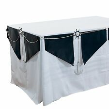 "Nautical Wedding Table Garland 106"" x 15"""