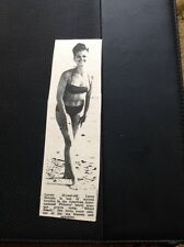 66-1 Ephemera 1965 Picture Actress Luree Holmes Bikini Beach Film Star
