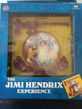 THE JIMI HENDRIX EXPERIENCE 3D ALBUM COVER PICTURE FRAME SEALED MCFARLANES TOYS