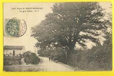 cpa Ecrite en 1907 FORÊT de MONTMORENCY (Val d'Oise) Arbre Le Gros CHÊNE Maison