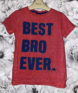 Boys Age 18-24 Months - Next 'Best Bro Ever' T Shirt